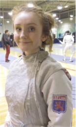 melanie-caffier-3eme-championnats-de-france-cadet