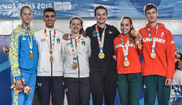 Armand SPICHIGER Champion Olympique des JO de la jeunesse